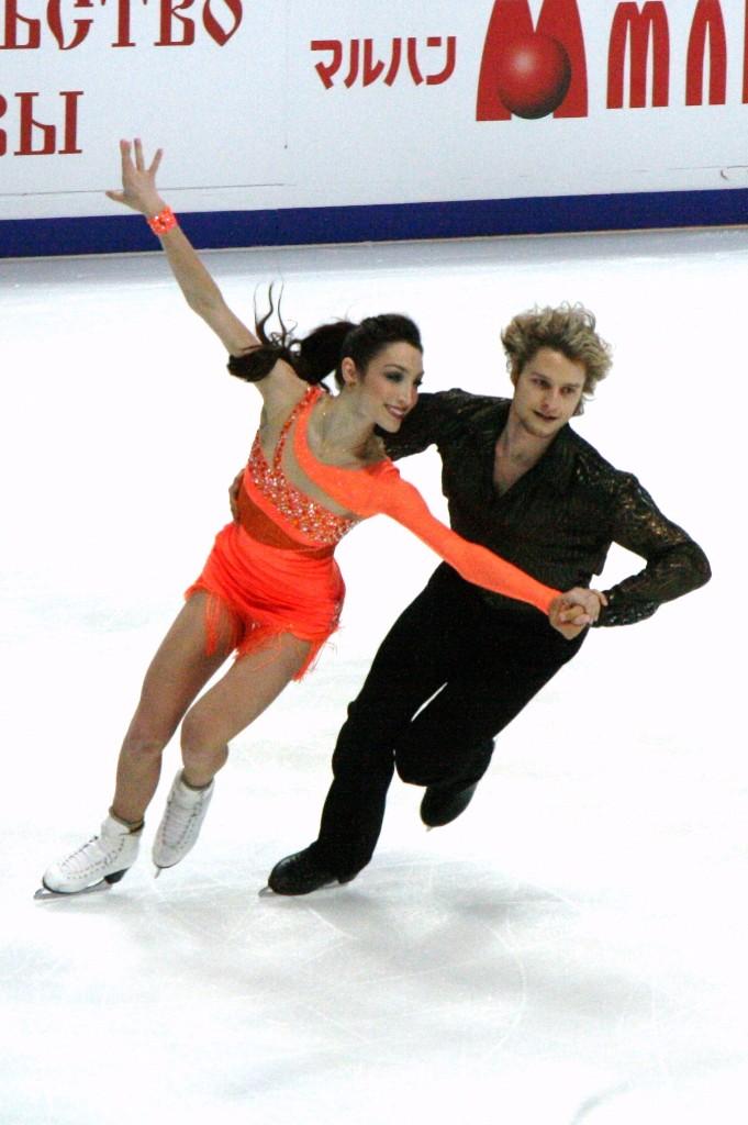 foto meryl davis en partner op ijs