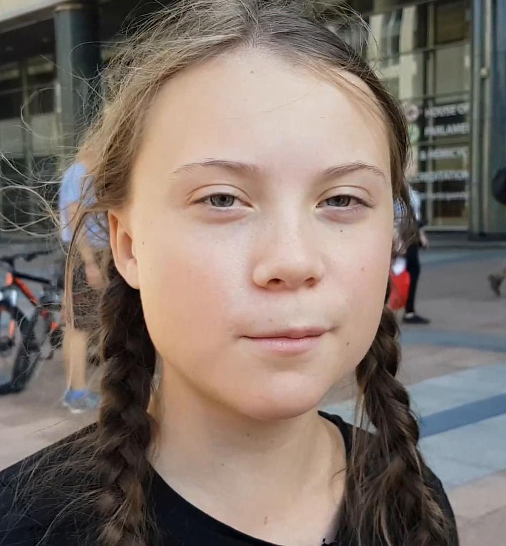 foto Greta Thunberg