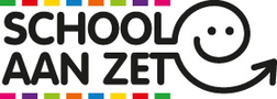 Logo 'School aan zet'