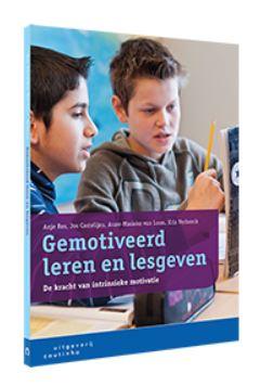Cover boek Gemotiveerd leren en lesgeven