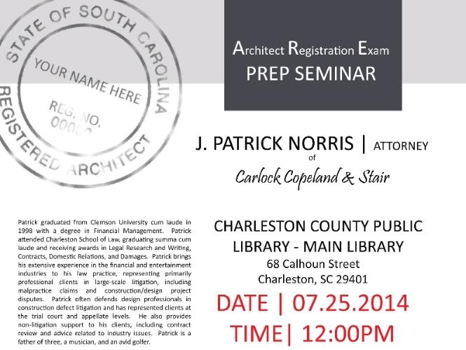 ARE Prep Seminar