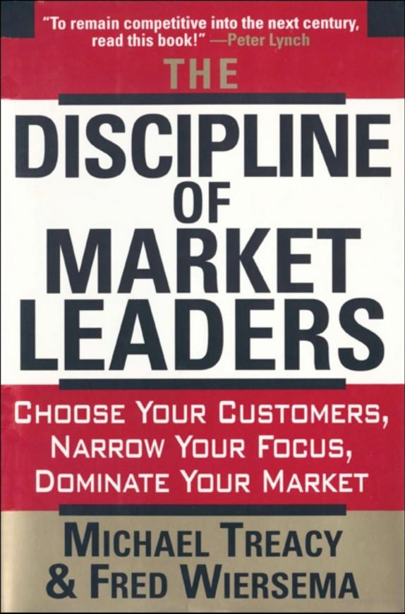 Discipline of Market Leaders - book cover