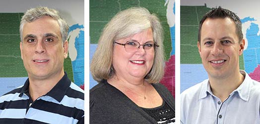 Leonardo Liberato, Linda Deplanty, Corey Winters