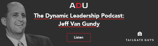 (Listen) The Dynamic Leadership Podcast: Jeff Van Gundy