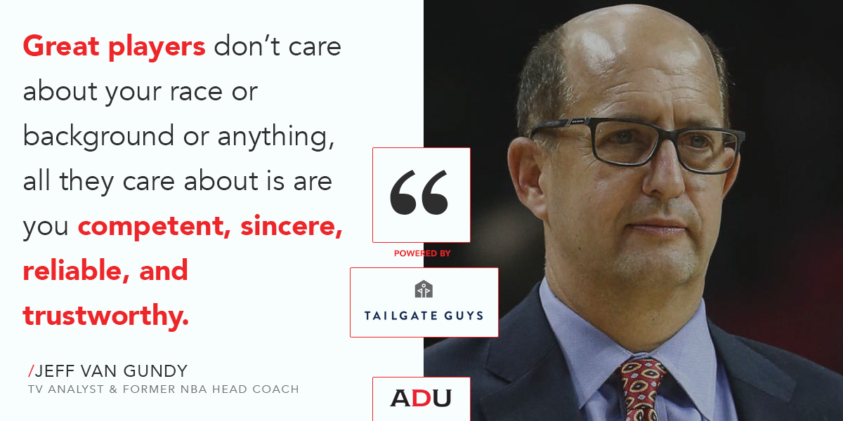 The Dynamic Leadership Podcast: Jeff Van Gundy