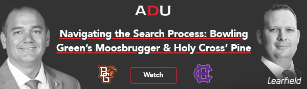 (Watch) Navigating the Search Process: Bowling Green's Moosbrugger & Holy Cross' Pine