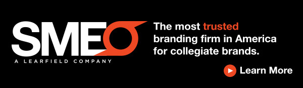 SME: The most trusted branding firm in America for collegiate brands.