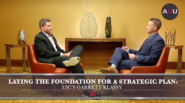 (Watch) Laying The Foundation For A Strategic Plan: UIC's Klassy