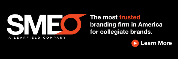 SME: The most trusted branding firm in America for collegiate sports brands.
