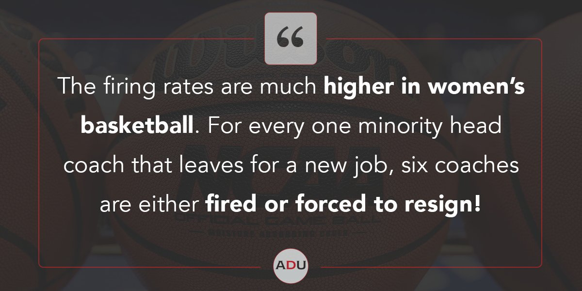 (Read) Coaching Carousel Data Reveals Institutionalized Discrimination in College Basketball