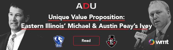 (Watch) Unique Value Proposition: Eastern Illinois' Michael & Austin Peay's Ivey