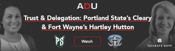 (Watch) Trust & Delegation: Portland State's Cleary & Fort Wayne's Hartley Hutton