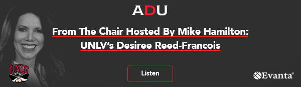 (Listen) From The Chair Hosted By Mike Hamilton: UNLV's Desiree Reed-Francois