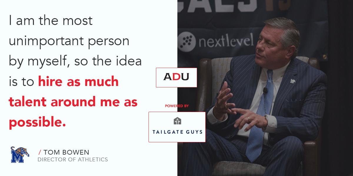 (Watch) Memphis' Tom Bowen On The Human Element Of Leadership