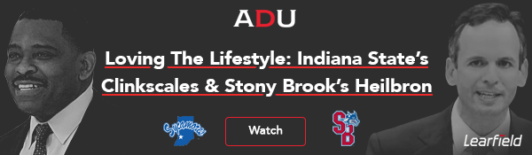 (Watch) Loving The Lifestyle: Indiana State's Clinkscales & Stony Brook's Heilbron