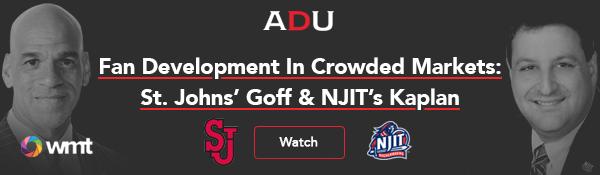 (Read) Fan Development In Crowded Markets: St. John's AD Goff & NJIT AD Kaplan