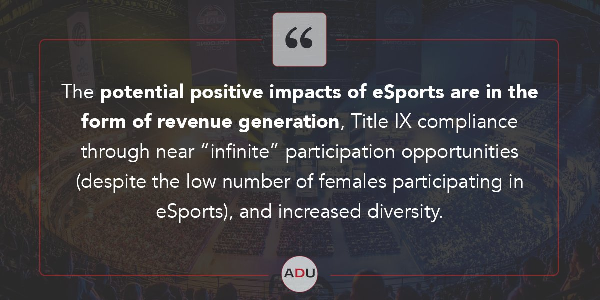 (Read) Are We Witnessing The Dawn Of Competitive Intercollegiate eSports?