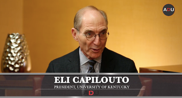Watch: Making It Work With The CEO: Kentucky President Capilouto & UMBC Athletic Director Hall