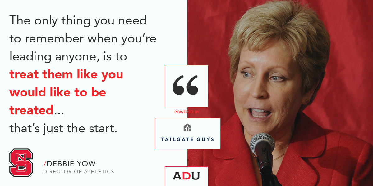 (Watch) N.C. State's Yow On Leadership Paradigms: Athletic Directors vs. Head Coaches