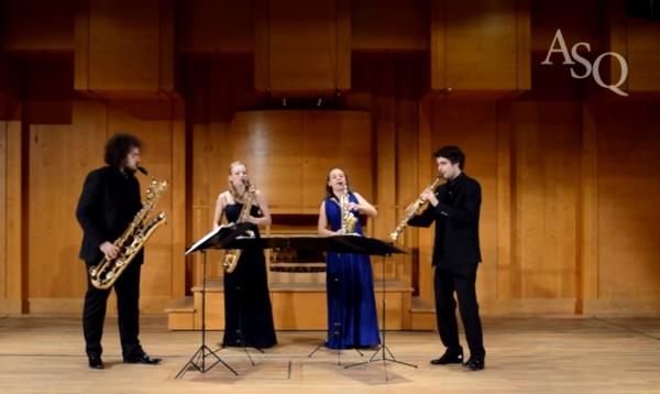 Arcis Saxophon Quartett - Ligeti: Six Bagatelles