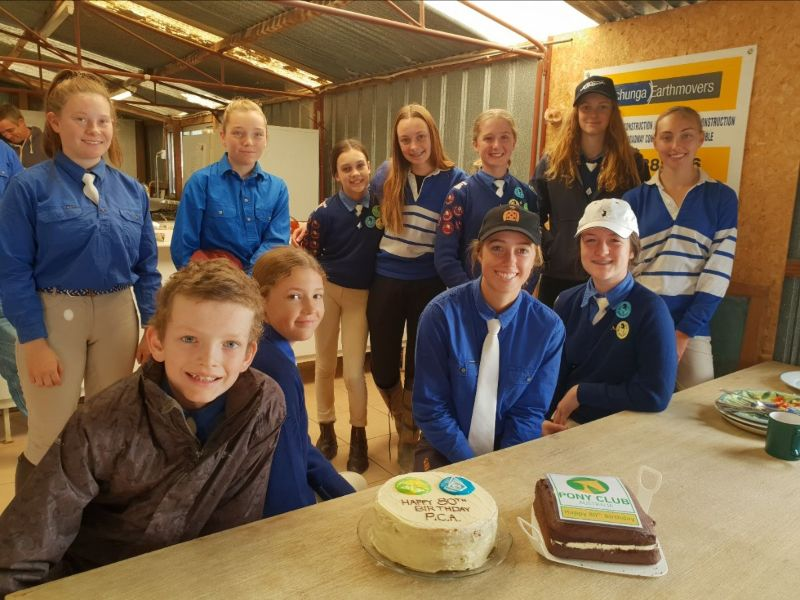 Mountain members and the birthday cakes