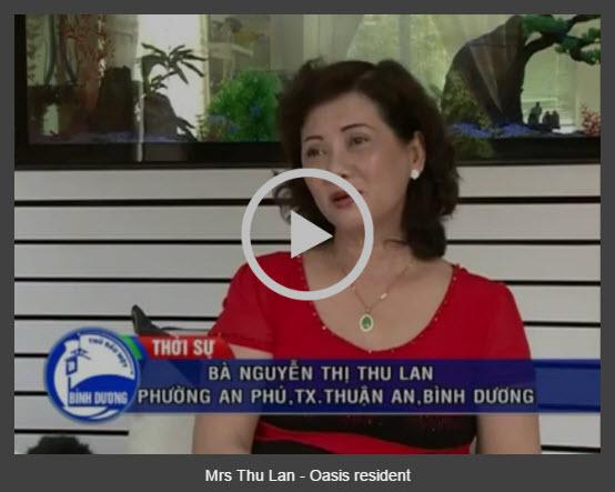 Mrs Thu Lan - Oasis resident