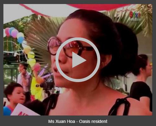 Ms Xuan Hoa - Oasis resident