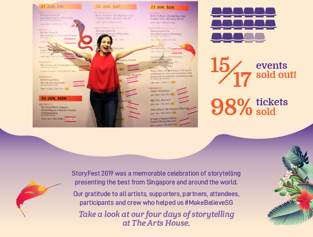 Thank you for supporting Storyfest!