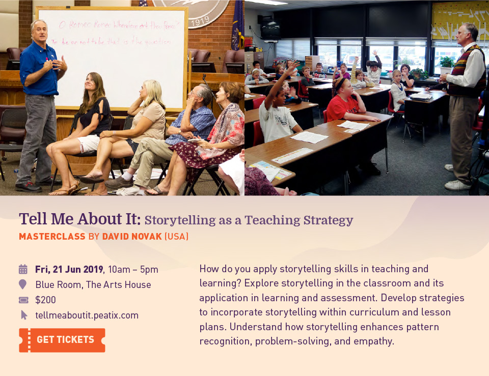 Tell Me About It: Storytelling as a TeachingStrategy