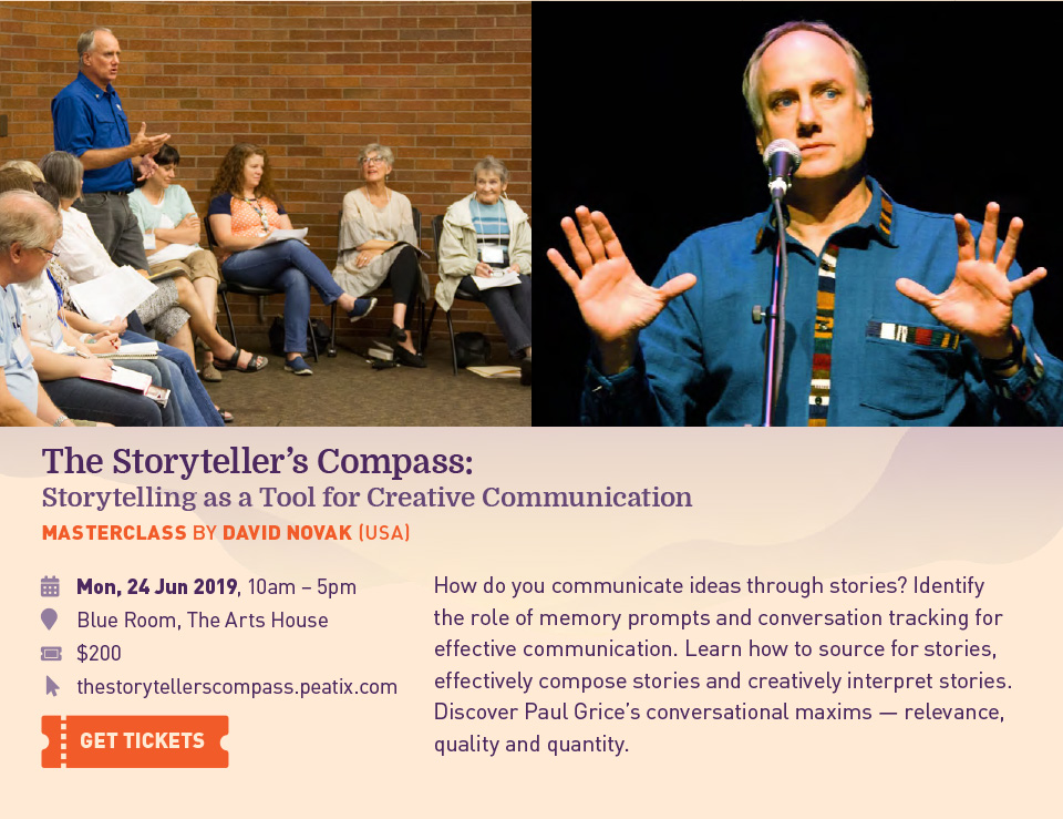 The Storyteller's Compass: Storytelling as a Tool for Creative Communication