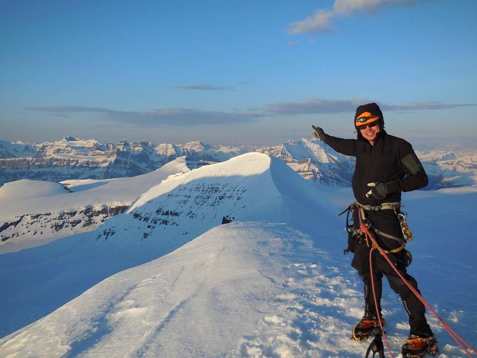 Jean-Francois Dupras Mountain Climber
