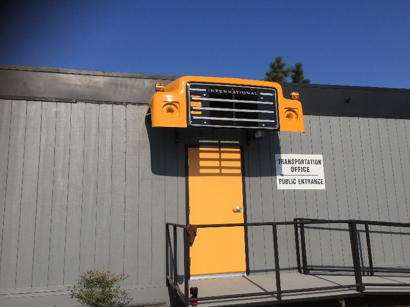 Image of the CUSD Transportation Office