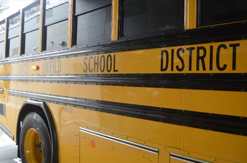 Photo of a CUSD School Bus