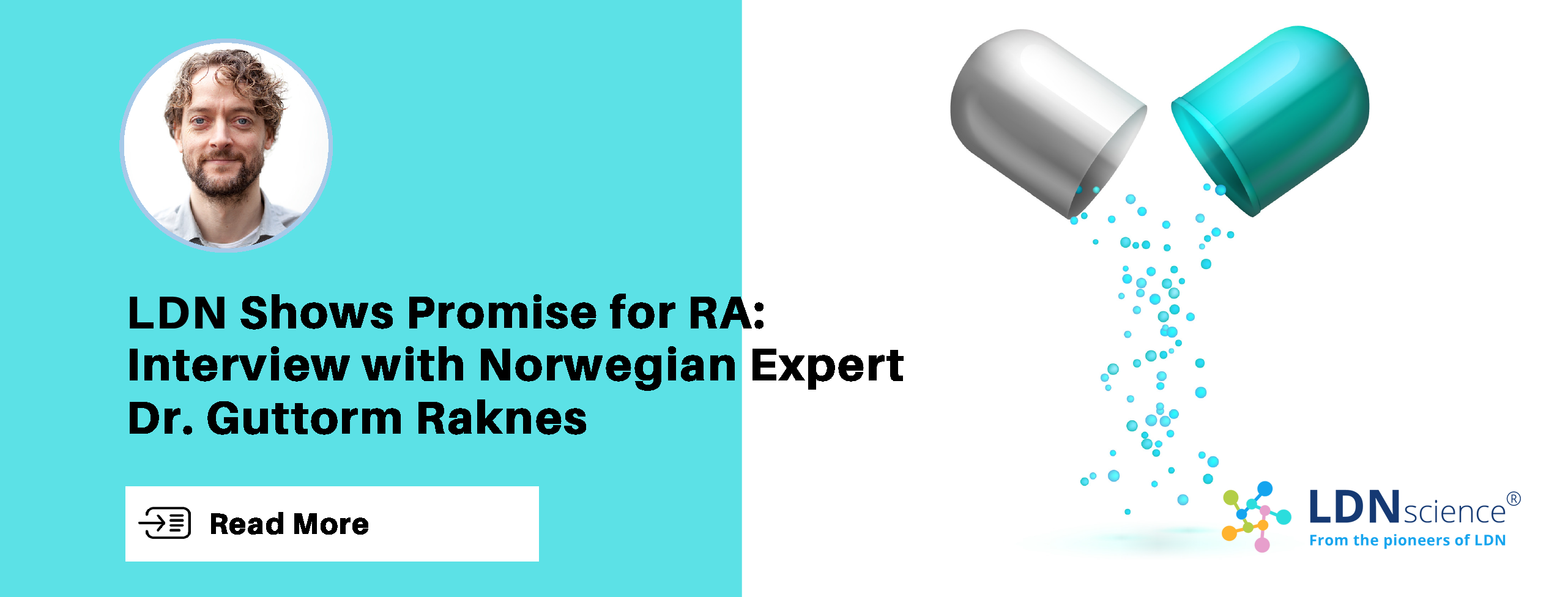 LDNscience News Alerts - LDN Shows Promise for RA: Interview with Norwegian Expert Dr. Guttorm Raknes