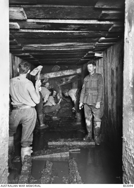 World War One miners