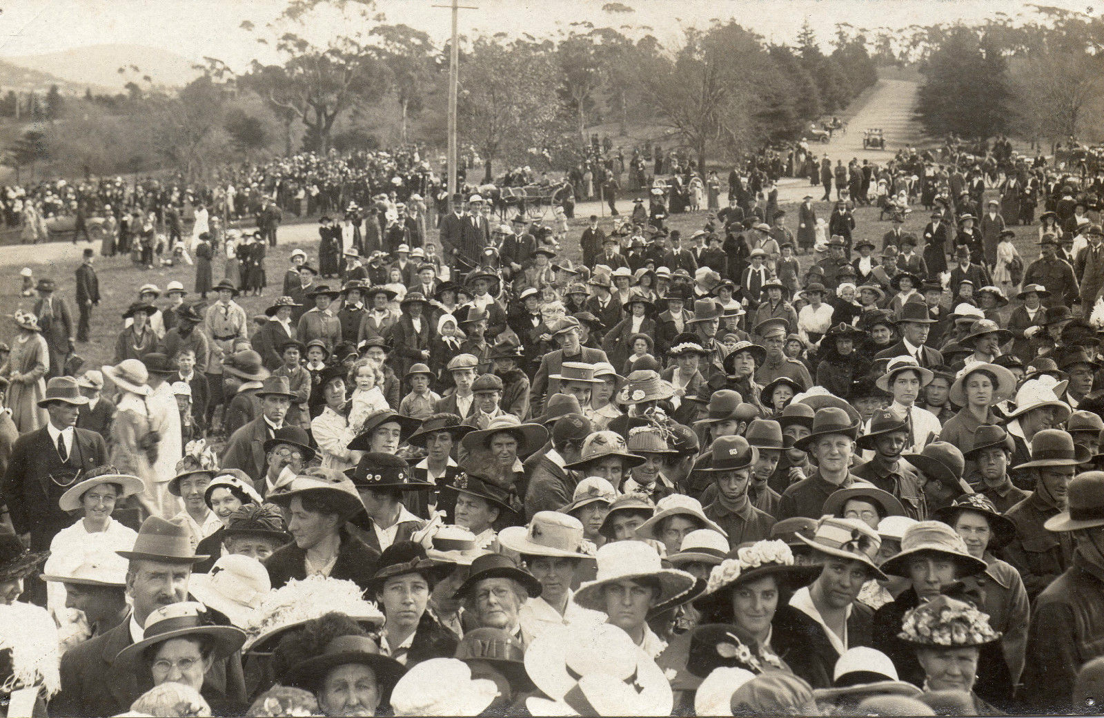 First ANZAC Day in Hobart 1916