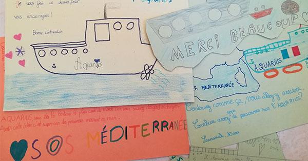 SOS MEDITERRANEE fait Escale à Sète
