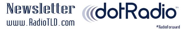 dotRadio Newsletter