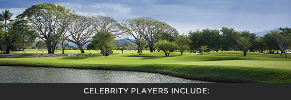 Celebrity Players Include: