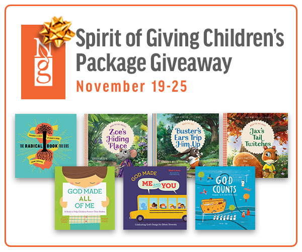 New Growth Press' Spirit of Giving Children's Book Giveaway
