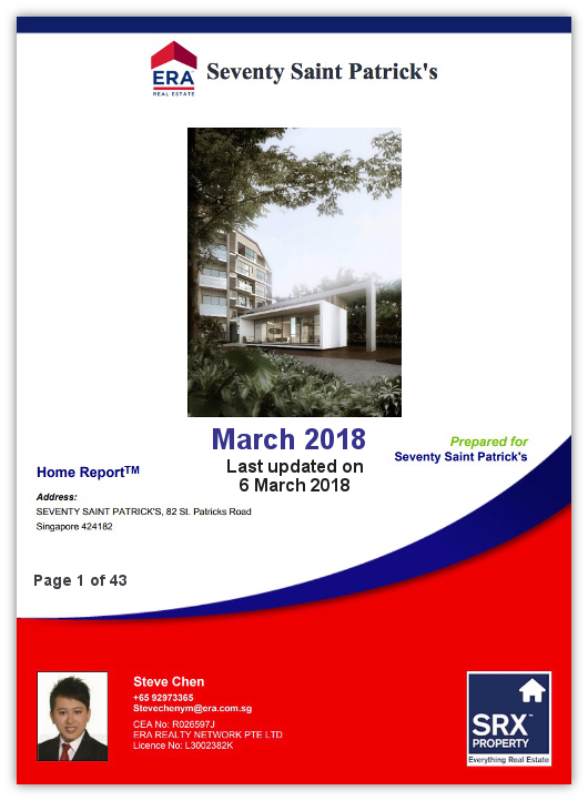 70 St. Patrick's Property Report from Steve Chen