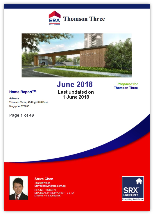 Thomson Three Property Report from Steve Chen