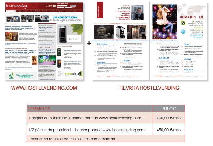 hostelvending hostel vending hostelvending.com oferta publicidad advertising