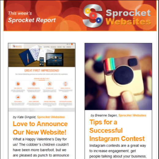The Sprocket Report