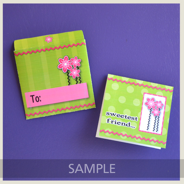 Springtime CD Envelope