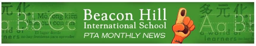 Beacon Hill International School PTA Monthly News