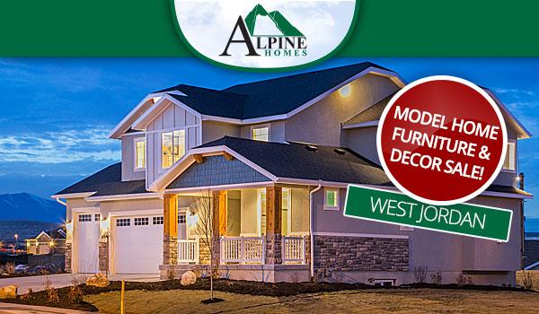 Model home furniture & decor sale!
