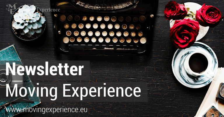 Newsletter 'Moving Experience'