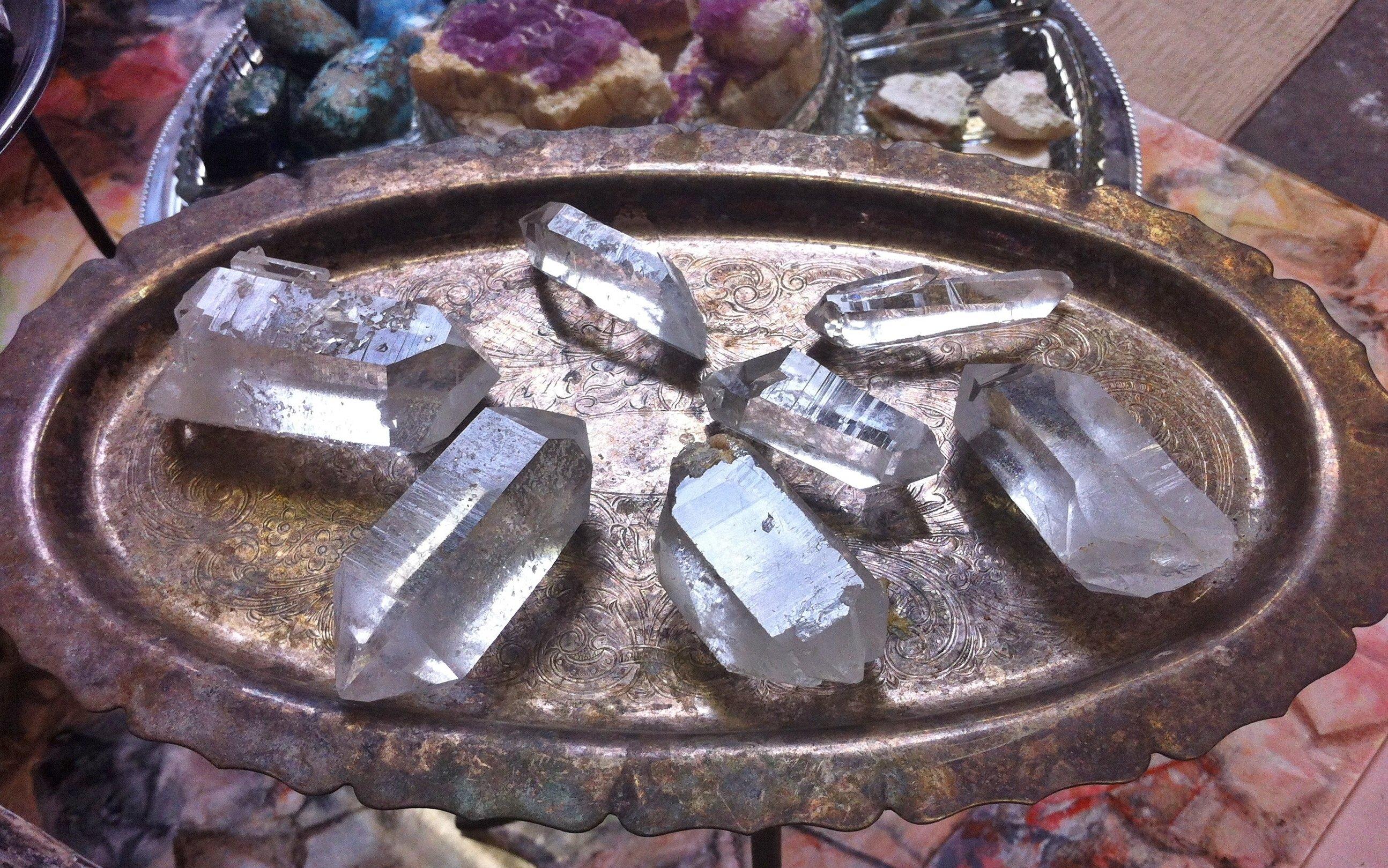 Crystals from Arkansas