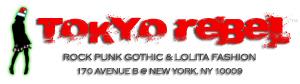 Tokyo Rebel - Rock, Punk, Gothic & Lolita Fashion